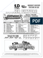 WSB Soccer Fixture