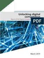 Unlocking Digital Competition Furman Review Web