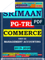 Pgtrb Commerce Unit 3 Study Material English Medium