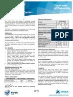 Fortis Extra System TDS en 2009-08-24 Ghana