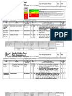 Risk Assesment Operation PDF