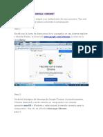 Cómo Descargar Google Chrome