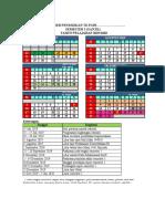 Kalender Pendidikan PAUD/TK Tahun Ajaran 2019/2020