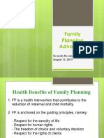 Family Planning Advocacy
