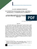 Artigo Legislacao Afro Descendente Uma Relacao Entre Antropologia e Direito