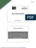 Aula Introdução Farmacocinética