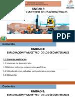 Unidad 8 Exploracion y Muestro de Gomateriales