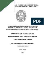 Conversiones industriales a gas natural, marco legal, técnica y experiencia en industrias peruanas.pdf
