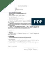 Informe Psicologico Raven General y Especial Por César Vargas
