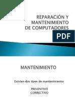 REPARACIÓN Y MANTENIMIENTO.pptx