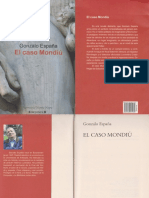 El Caso Mondiu - Gonzalo España