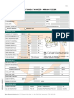 Apron Feeder Application Datasheet En