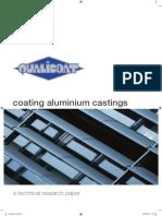 COATING ALUMINUM CASTING