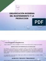Organizacion Moderna Del Mantenimiento