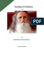Rabbi Michael ben Pesach Portnaar - The Teachings of Foolishness 1.pdf