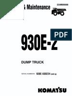O&M 930E-2 A30224-UP CEAD006600