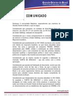 Gob Comunicado Carta Aracaju