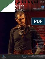 Boletín Teatral No.8