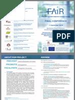 Flyer FAIR Final International Conference 11 92019
