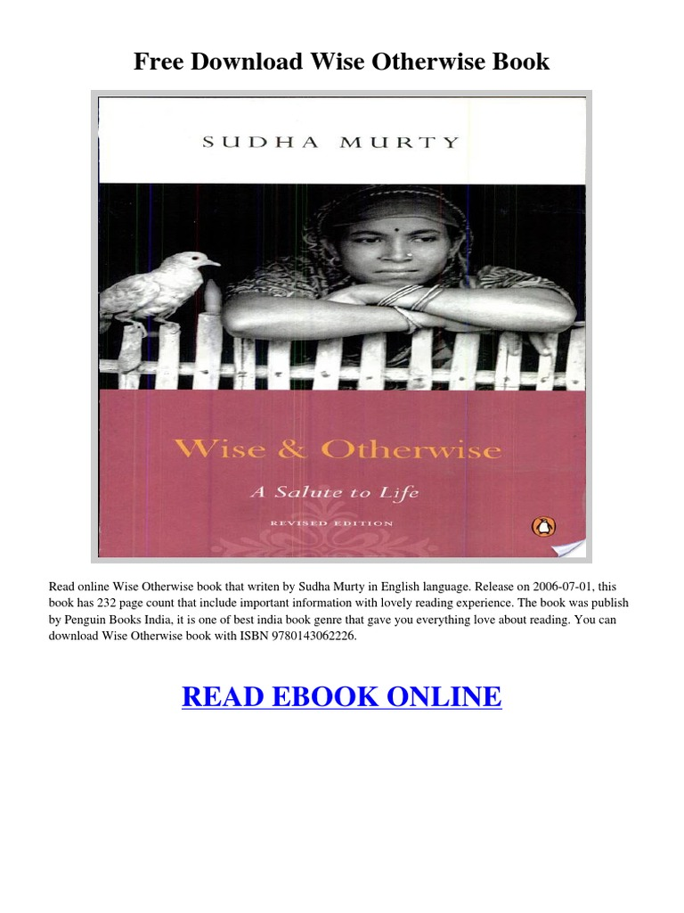 wise and otherwise book free download