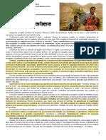 Globalização e a Crise Berbere