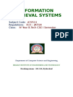 Information Retrieval Systems (a70533)