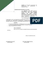solicitud de certificado de numeracion
