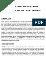 Cc05- Efficient Traceable Authorization Search System for Secure Cloud Storage.docx - Copy
