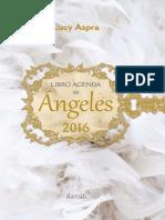 Libro Agenda de ÁNGELES 2016