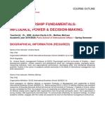 Leadership Fundamentals - Andres DAVILA & Mathieu MOLINES