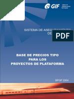 Manual de Precios BPGP 2004
