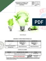 Programa de Ahorro y Uso Eficiente de La Energia Electrica
