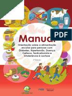 Orientação sobre a alimentação escolar para pessoas com Diabetes, Hipertensão, Doença Celíaca, Fenilcetonúria e Intolerância à Lactose