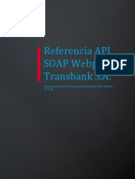 03 Referencia API SOAP Webpay Transaccion Mall Normal