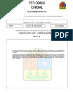 Periodicooficial Extraordinario 2019-08-07