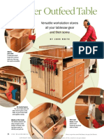 Best-Ever Outfeed Table -Fine Woodworking Magazine