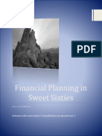 Financial Planning in sweet sixties