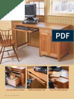 Build a Computer Desk - Fine Woodworking