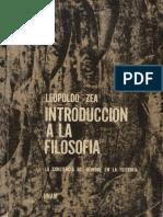 Introducción a la filosofía, LEOPOLDO ZEA