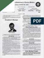 IBEW Union Paper Apr 1987