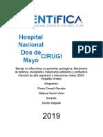 Manejo de Infecciones en Pacientes Quirurgicos