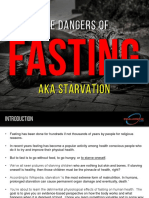 The Dangers of Fasting and Starvation - EAD 17