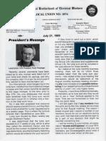 IBEW Union Paper Jul 1989