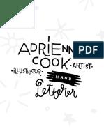 Adrienne Cook - Selected Portfolio - 2019