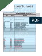 Aromaprecios Agosto Detalle 2015