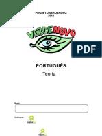 Pré vestibular Apostila de Portugues Teoria 2014