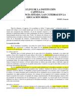 Dubet- El Declive de La Institución Cap4