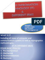 What is Information Technology & Different Era's