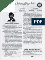 IBEW Union May 1986