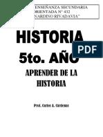 Aprender de La Historia